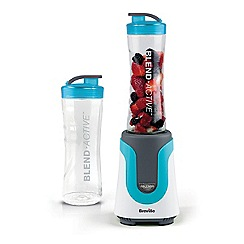 Breville - Blue 'Blend Active' blender and smoothie maker VBL136