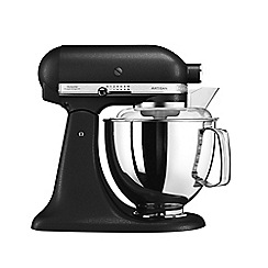 KitchenAid - Artisan' Cast Iron Black stand mixer 5KSM175PSBK