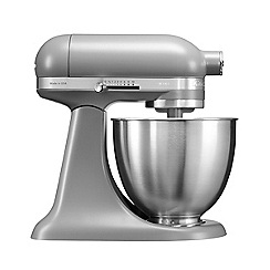 KitchenAid - Artisan' Matte Grey mini stand mixer KSM3311XBFG