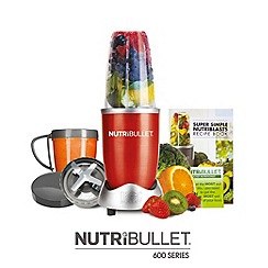 Nutribullet - 600 Series 8 Piece Set, Red
