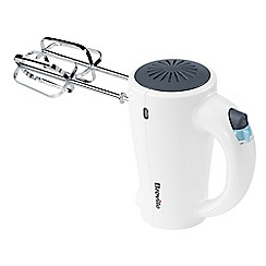 Breville - White simplicty 5 speed hand mixer VFP075