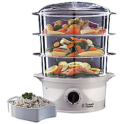 Russell Hobbs - 3 tier food steamer 21141