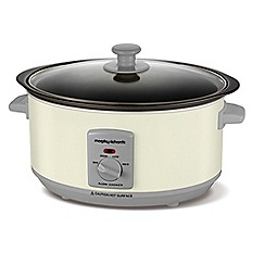 Morphy Richards - 3.5L Cream Searing Slow cooker 460010