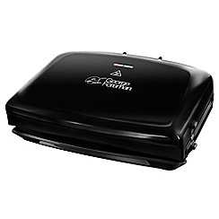 George Foreman - 5 portion removable plates health grill 24330