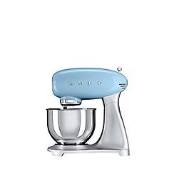Smeg - Blue stand mixer SMF01PBUK