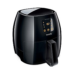 Philips - Extra large black 'Avance' airfryer HD9240/90