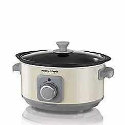 Morphy Richards - Cream 'Evoke' 3.5L slow cooker 460013