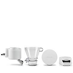 KitchenAid - White sifter with scale attachment 5KSMSFTA