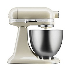 KitchenAid - Cream 'Mini' 3.3L stand mixer 5KSM3311XBAC