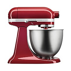 KitchenAid - Red 'Mini' 3.3L stand mixer 5KSM3311XBER