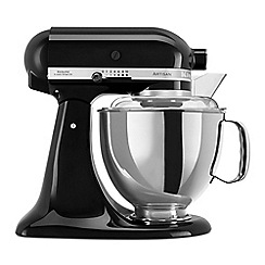 KitchenAid - Black 'Artisan' food mixer 5KSM175PSBOB