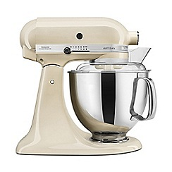 KitchenAid - Cream 'Artisan' food mixer 5KSM175PSBAC
