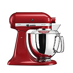 KitchenAid - Red 'Artisan' food mixer 5KSM175PSBER