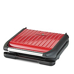 George Foreman - Red 7 Portion Family Grill 25050