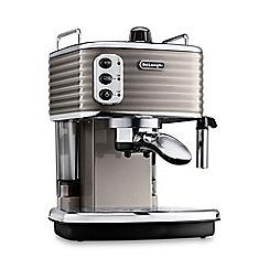 DeLonghi - Champagne 'Scultura' espresso coffee machine ECZ351.BG