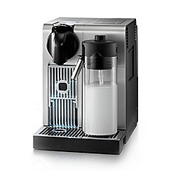 Nespresso - Silver 'Lattissima + Pro' coffee machine by Delongi EN750.MB