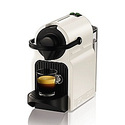 Nespresso - White 'Inissia' coffee machine by Krups XN100140