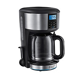 Russell Hobbs - Black 'Buckingham' digital filter coffee maker 20680-56