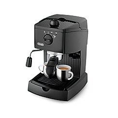 DeLonghi - Black traditional pump espresso coffee machine EC146.B