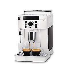 DeLonghi - White 'Magnifica' Bean to Cup Coffee Machine ECAM21.117W