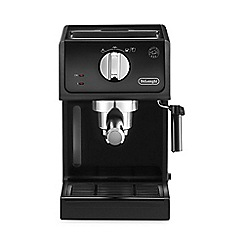 DeLonghi - Black 'Pump' espresso coffee machine ECP 31.21