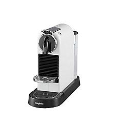 Nespresso - White 'Citiz' coffee machine by Magimix 11314