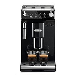 DeLonghi - Autentica bean to cup black coffee machine ETAM29.510B