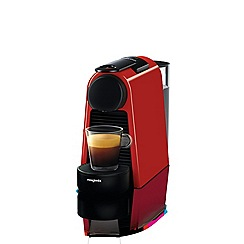 Nespresso - Red 'Essenza Mini' coffee machine by Magimix 11366