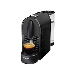 Nespresso - Black 'U' coffee machine by Magimix 11340