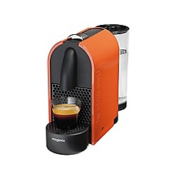 Nespresso - Orange 'U' coffee machine by Magimix 11341