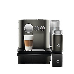 Nespresso - Anthracite grey 'Expert & Milk' coffee machine by Magimix 11380