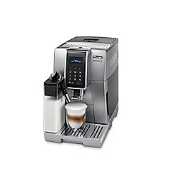 DeLonghi - Silver dinamica bean to cup coffee machine ECAM350.75S