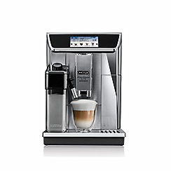 DeLonghi - Silver elite experience bean to cup coffee machine ECAM650.85S