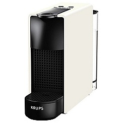 Nespresso - White 'Essenza Mini' coffee machine by Krups XN110140