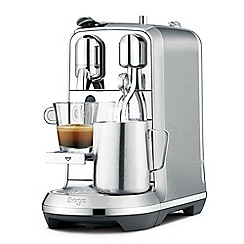 Nespresso - Silver 'Creatista Plus' stainless steel coffee machine by Sage BNE800