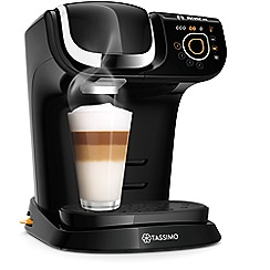 Tassimo by Bosch - Black 'My Way' multi-beverage machine TAS6002GB