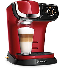 Tassimo by Bosch - Red 'My Way' multi-beverage machine TAS6003GB