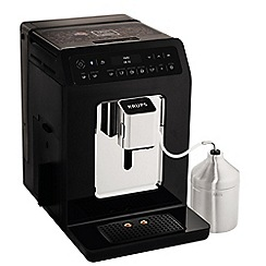Krups - Black 'Evidence' automatic espresso bean to cup coffee machine - EA893840