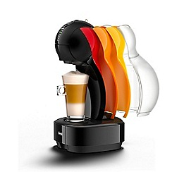 Nescafé Dolce Gusto - Colors black coffee machine with travel kit by De'Longhi.' EDG355.B1