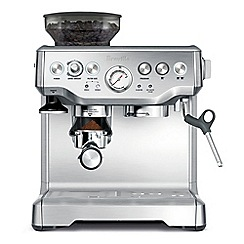 Sage - Stainless steel 'Barista Express ' bean to cup coffee machine BES875UK