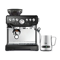 Sage - Black 'Barista Express ' bean to cup coffee machine BES875BSUK