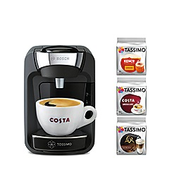 Tassimo by Bosch - Black 'Suny' starter kit coffee machine TAS3202GBC