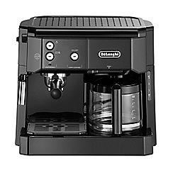 DeLonghi - Black Espresso filter coffee machine BCO411.B