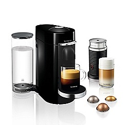 Nespresso - Black 'VertuoPlus' brewing coffee machine by magimix - 11387