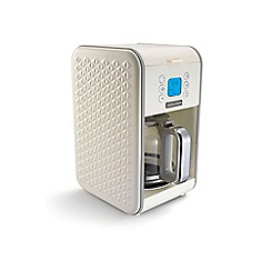 Morphy Richards - Cream Vector pour-over filter coffee machine 163004