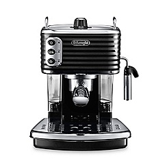 DeLonghi - Black 'Scultura' traditional pump espresso machine ECZ351.BK