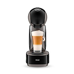 Nescafé Dolce Gusto - Black 'Infinissima' pod coffee machine by DeLonghi EDG260.GY