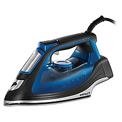 Russell Hobbs - Black and blue 'Impact' iron 24650