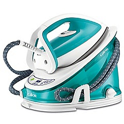 Tefal - Blue and white 'Effectis' high pressure steam generator iron GV6721