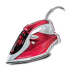 Russell Hobbs - Red 'Supreme Steam Ultra' iron 23991